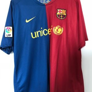 07d1e7923 Nike Shirts - FC Barcelona Jersey Thierry Henry Size XL